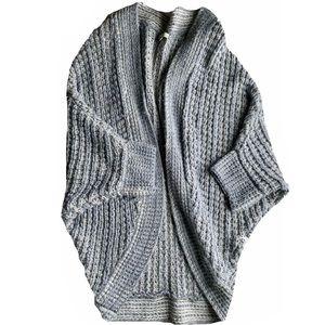 Joan Vass Studio Knit Cardigan Womans L
